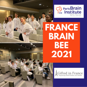 Concours France Brain Bee 2021