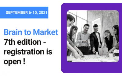 Brain to Market 7th edition – Registration open !
